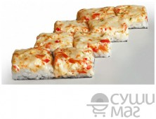 Суши пицца с курой