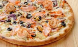 Пицца Морская, 28 см.