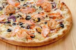Пицца Морская, 45 см.