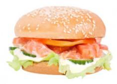 Сандвич с форелью