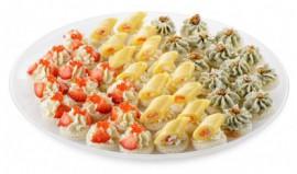 Ассорти канапе сырных закусок