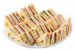 Клаб-сэндвич  с ветчиной