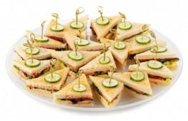 Сэндвич вегетарианский с жареным боклажаном