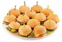 Мини чизбургеры с сыром