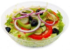 Индейка и ветчина салат